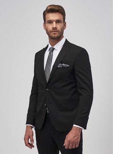 Altınyıldız Classics Ekstra Slim Fit Siyah Spor Takım Elbise 4A3010000064 Siyah